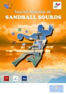 Affiche Sandball CSSM